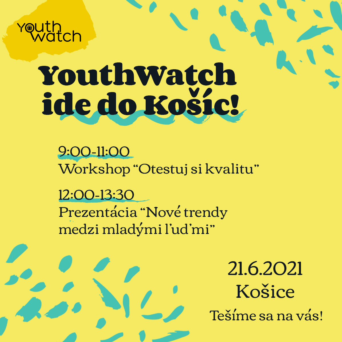YouthWatch ide do Košíc!